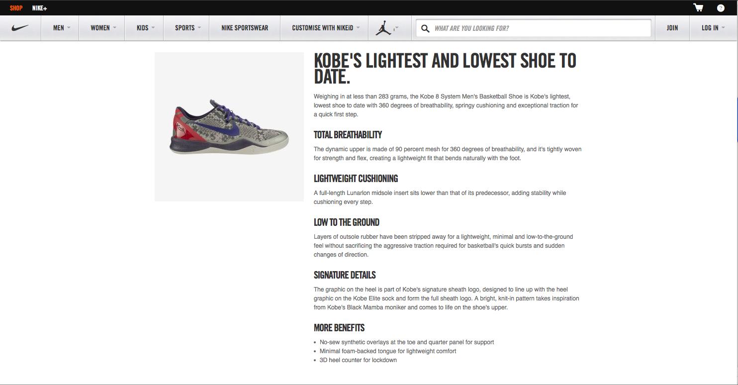 Kobe Shoe Launch