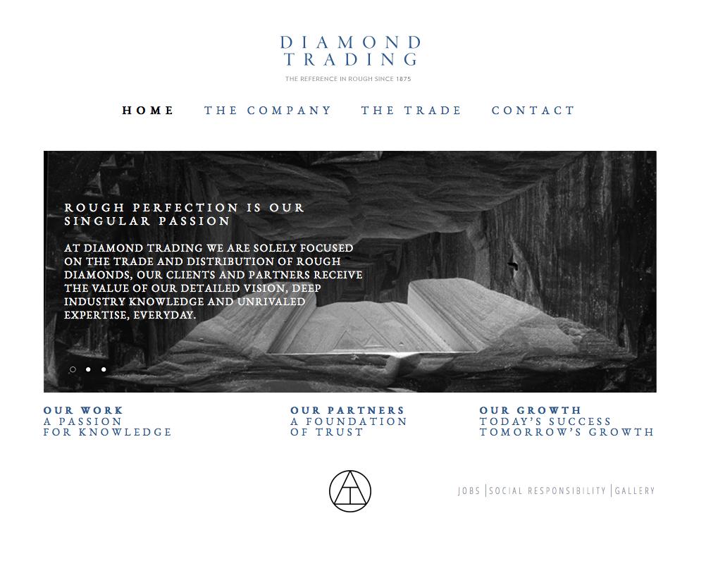 Diamond Trading Website