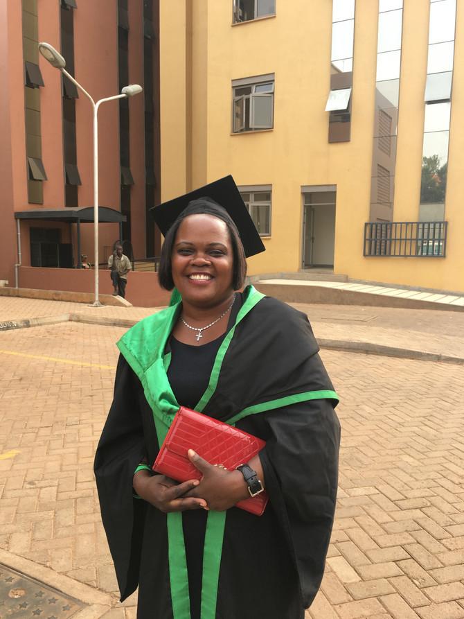 Graduation Mulago Midwife Sulphine