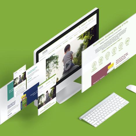 NoorVitamins Website Design