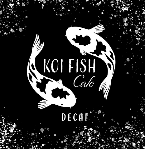 Koi Fish Cafe Decaf Label.png