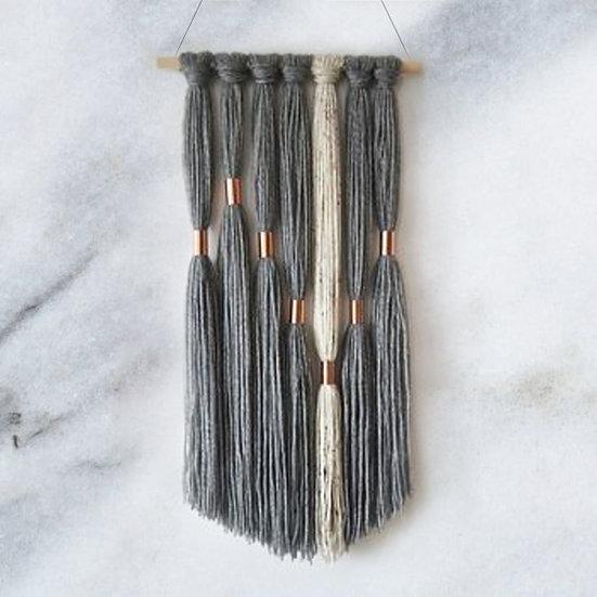 Copper Ring Yarn Wall Hanging - Arts & Craft Kit