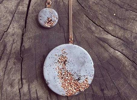 How to Create a Concrete Necklace