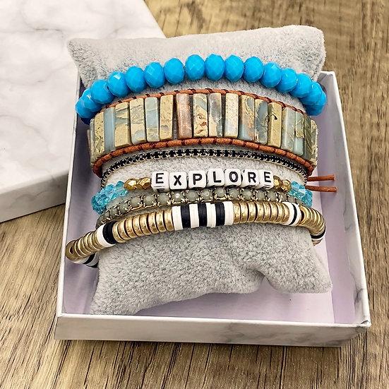 Giving Chains Bracelet Set - Explore