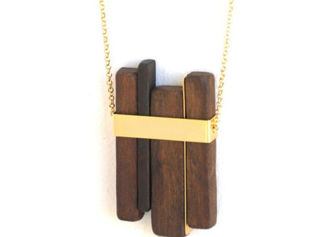 How to Create a Stained Wood Necklace
