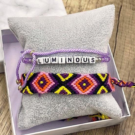 Kids Giving Chains Bracelet Set - Luminous
