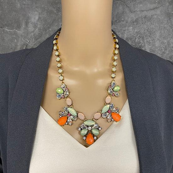 Sherbet Stone Statement Necklace