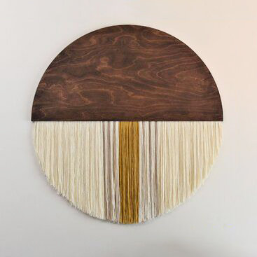 Half Moon Textile Wall Hanging - Arts & Craft Kit
