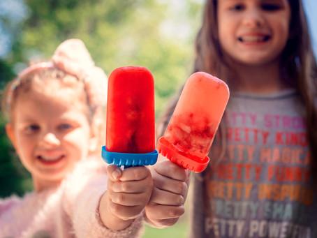 Kool-Aid Fruit Popsicles
