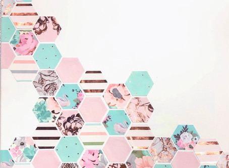 DIY Hexagon Wall Art in 3 Simple Steps