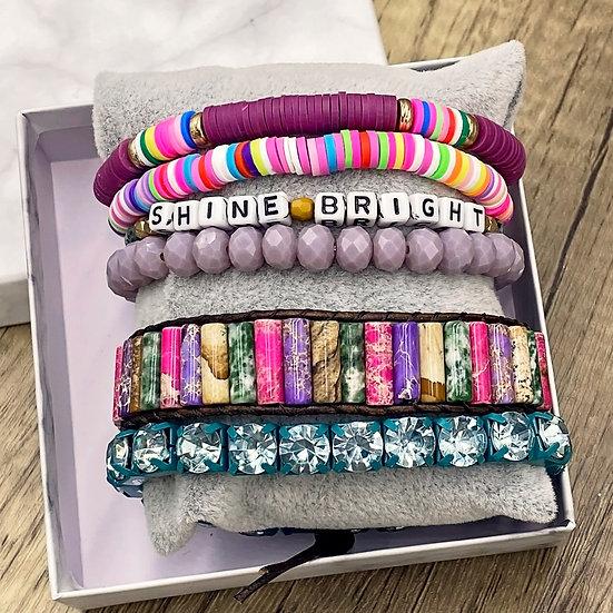 Giving Chains Bracelet Set - Shine Bright
