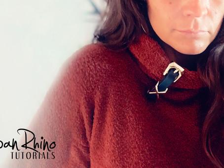 How to Create a Belt Cuff Sweater