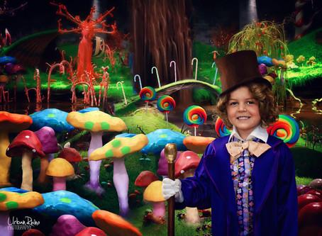 Photoshop Speed Edit: Willy Wonka
