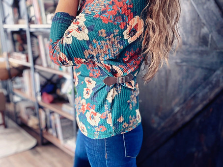 How to Create a Side Belt Embellished Top