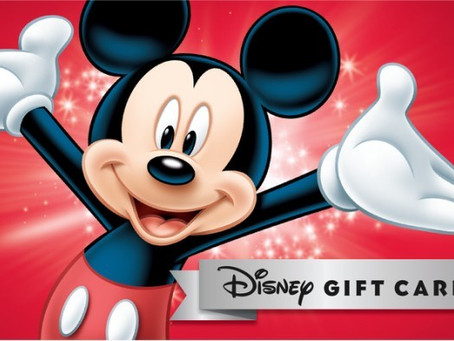 Disney Gift Card Must Knows