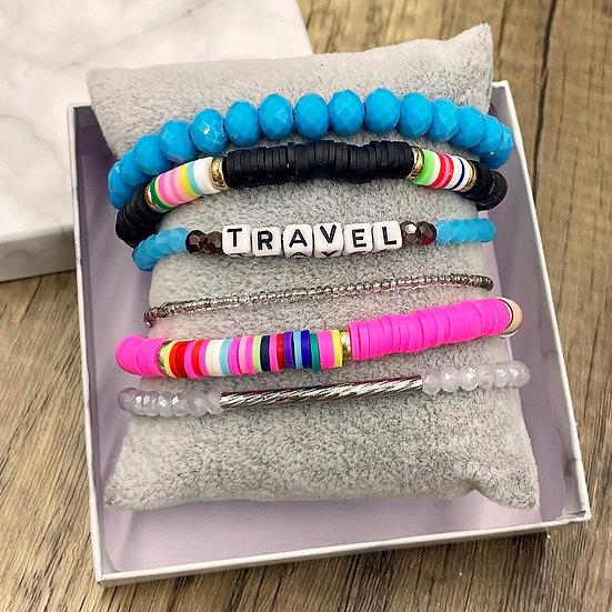 Giving Chains Bracelet Set - Travel