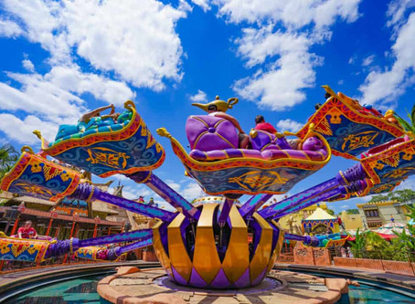 The Best Disney Rides for a Little Girl