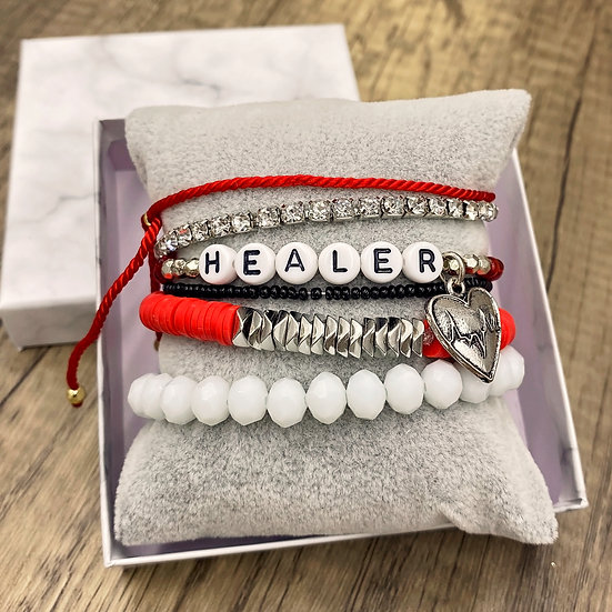Giving Chains Bracelet Set - Healer