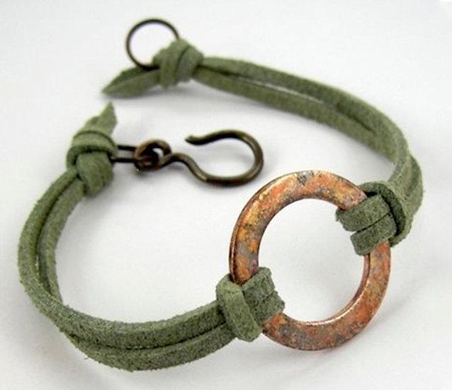 Enamel Washer Bracelet - Jewelry Making Kit