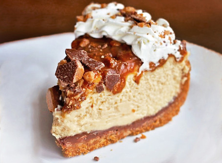 Caramel Cookie No Bake Cheesecake
