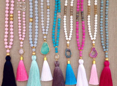 How to Create a Beaded Tassel Necklace