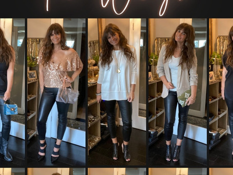 How to Wear Leather Pants 10 Ways