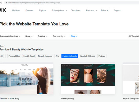 Getting Started Building a Website in Wix