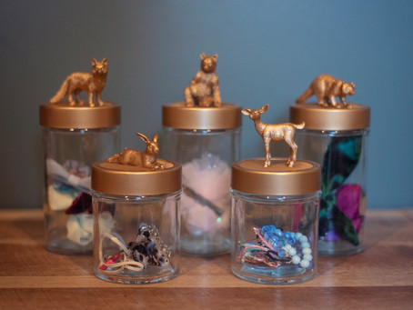 How to Make Themed Storage Jars in 2 Simple Steps