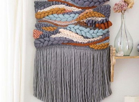How to Create a Loom Woven Wall Hanging