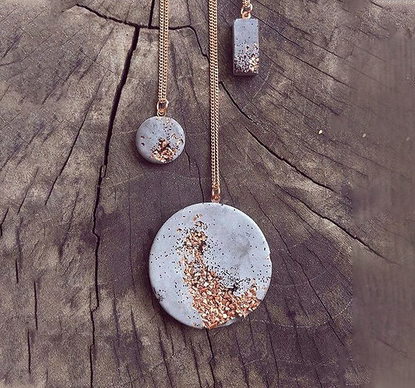 Concrete Necklace - Jewelry Making Kit