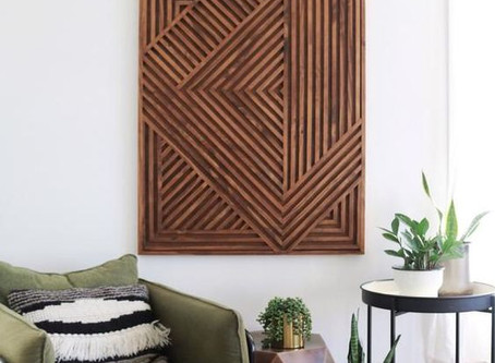 How to Create Wood Dowel Wall Art