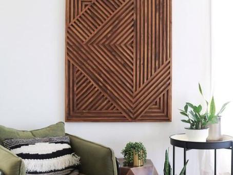 How to Create Wood Dowel Wall Art