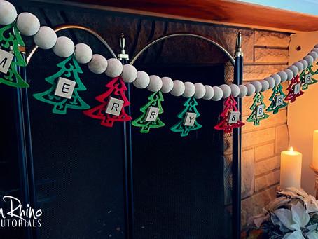 How to Create Christmas Tree Garland