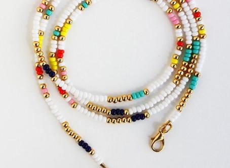 How to Create a Beaded Wrap Around Bracelet