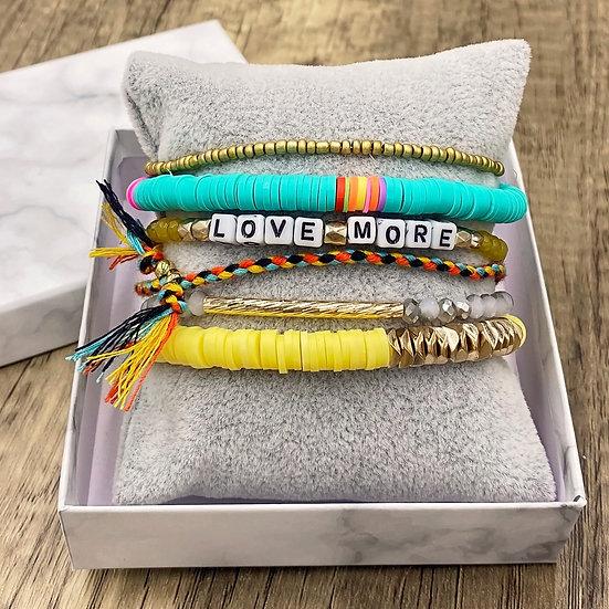 Giving Chains Bracelet Set - Love More