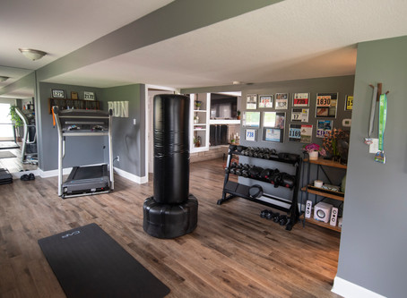 Home Makeover Part 3: Gym and Playroom