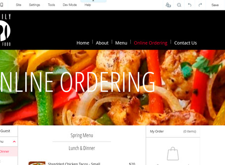 How to Set Up Online Ordering for Your Wix Website