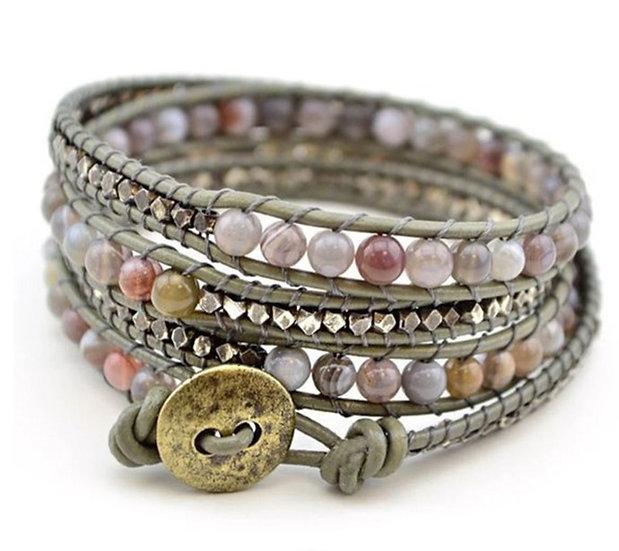 Beaded Wrap Bracelet - Jewelry Making Kit
