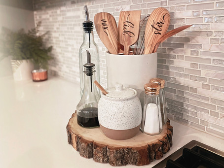 How to Create Wood Burned Serving Spoons