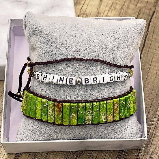 Kids Giving Chains Bracelet Set - Shine Bright