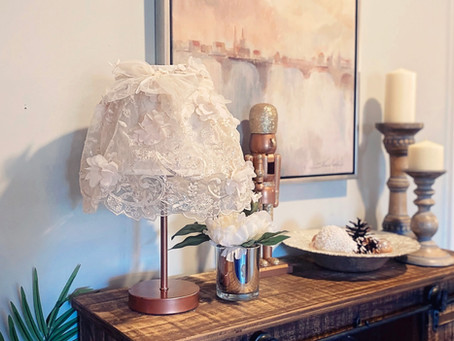 How to Create an Elegant Fabric Lamp