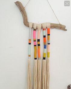 Color Block Yarn Wall Hanging - Arts & Craft Kit