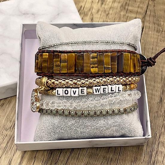 Giving Chains Bracelet Set - Love Well