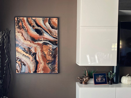 How to Create Resin Wall Art