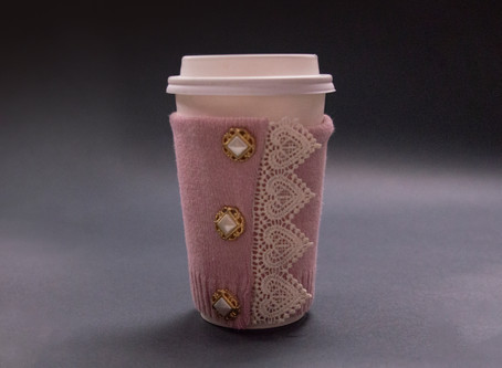 Make a Coffee Cup Sleeve in 6 Simple Steps