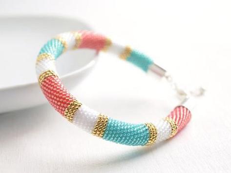 How to Create a Beaded Loop Bracelet