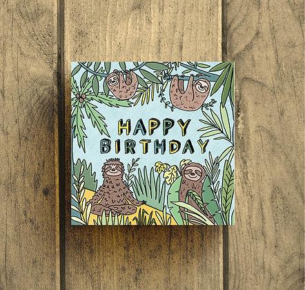 Happy Birthday sloth's
