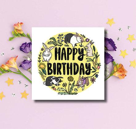 Happy Birthday Rabbits