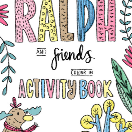 """""""Ralph and friends"""" childrens activity book"""