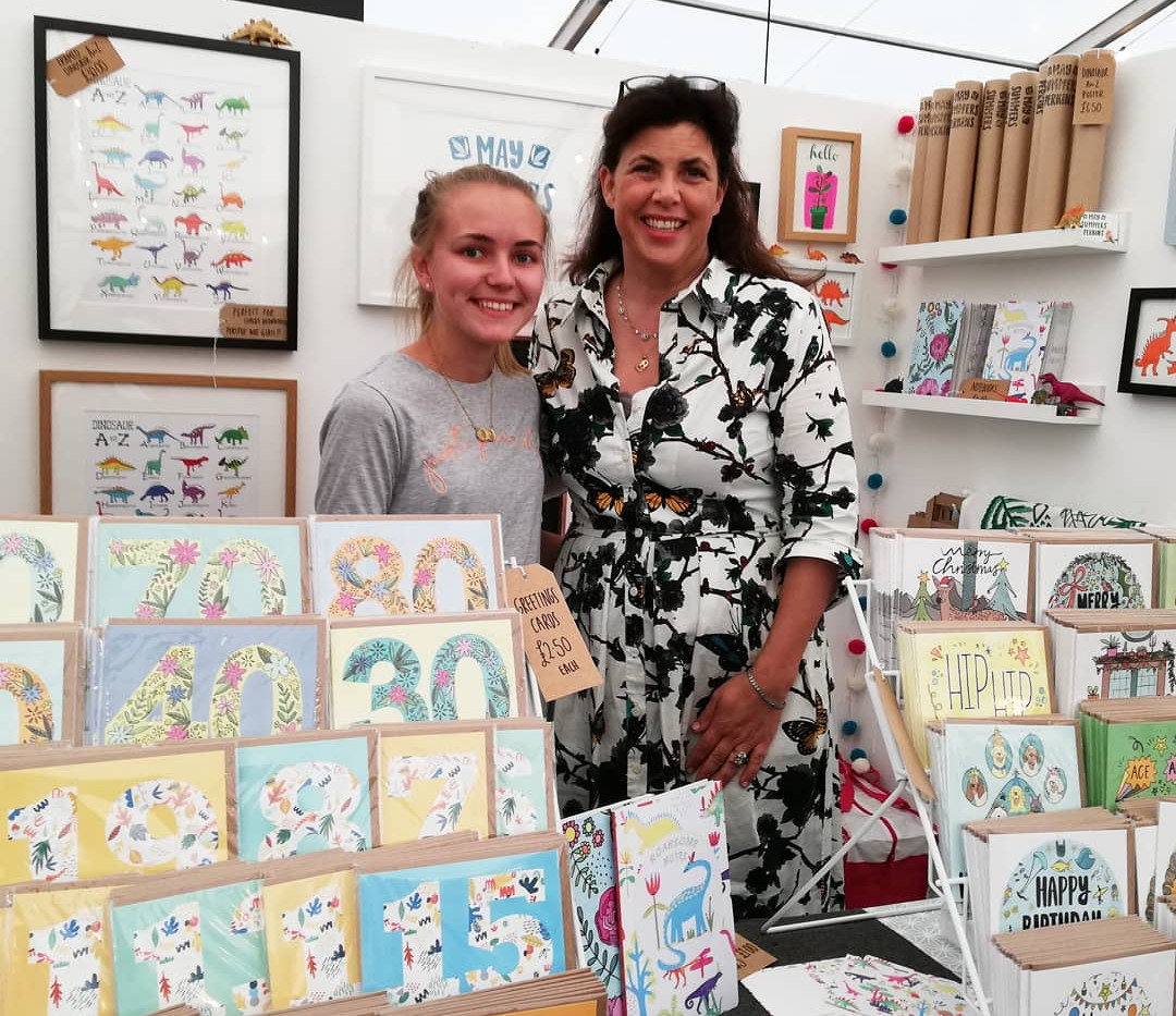 Meeting Kirstie Allsop at the Hanmade fair